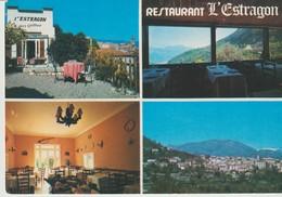 C.P.- PHOTO - LE BROC - RESTAURANT L'ESTRAGON - CHEZ GILBERT - 1051 - 4 VUES - France