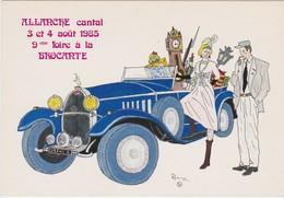 ALLANCHE 1985 FOIRE A LA BROCANTE DESSIN DE PATRICK HAMM TIRAGE LIMITE - Allanche