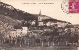 01 . N° 52635 . Saint-Sorlin . Vue Du Mont Et L'église - France