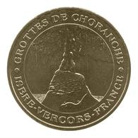 Monnaie De Paris , 2009 , Choranche , Grottes , La Stalagmite - Monnaie De Paris
