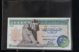 M-An / Billet  - EGYPT - 25  Piastres Banknotes  /  Année ? - Egypte