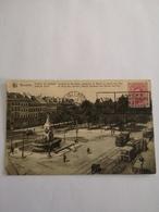 Bruxelles // Porte De Namur // Blvd. Regent Et Ave. Des Arts Avec Belle Trams 1920 - Vervoer (openbaar)