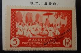 Marruecos N146Hccb( Sin Taladro - Marruecos Español