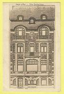 * Heist Aan Zee - Heyst (Kust - Littoral) * (Léon Chaubet) Villa Berthe Leon, Digue, Zeedijk, Dijk, Façade, Rare, Old - Heist