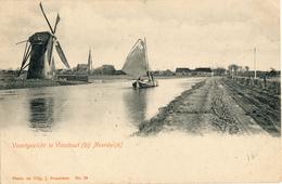 Voorhout, Noordwijk, Poldermolen, Windmill, Vaartgezicht - Windmolens