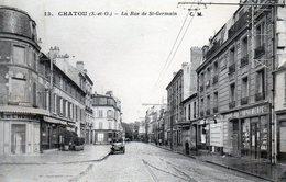 Chatou. La Rue De St-Germain. - Sonstige Gemeinden