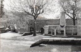 ST JEANNET-cp Glacée -place Du Monument Aux Morts - France