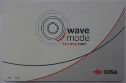 """Wave Mode Security Card """"CISA"""" - Autres Collections"""