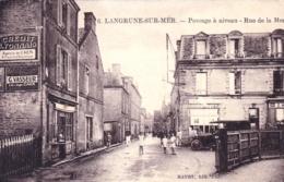 14 - Calvados -  LANGRUNE Sur MER - Passage A Niveau - Rue De La Mer - Frankrijk