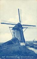 Delft, Rotterdamschenweg, Bieslandse Molen, Poldermolen, Windmill, - Windmolens