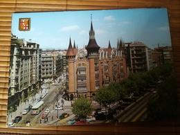 Carte Postale  BARCELONE Avenue Generalisimo Non Circulé C6 - Barcelona