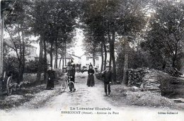 Ernecourt. Avenue Du Pont. (Animée) - France
