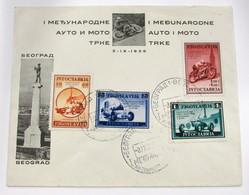 Yugoslavia 349/52 - Cartas
