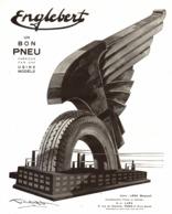 "PUB PNEUS  "" ENGLEBERT ""   1930 ( 1 ) - Voitures"