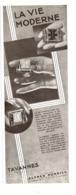 """PUB MONTRES """" TAVANNES """" """" ALFRED DUNHILL """" 1930 ( 3 ) - Montres Anciennes"""
