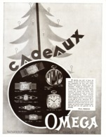 "PUB MONTRES "" OMEGA ""   1930 ( 26 ) - Montres Anciennes"