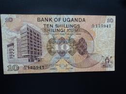 OUGANDA : 10 SHILLINGS  ND 1979   P 11b     TB+ - Uganda