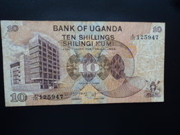 OUGANDA : 10 SHILLINGS  ND 1979   P 11b     TB+ - Ouganda