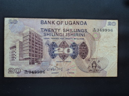 OUGANDA : 20 SHILLINGS  ND 1979   P 12b     TB+ - Ouganda