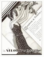 """PUB CREME   """" VELOUTY """"  De """" DIXOR  """" Par JACQUES LECLERC  1930 ( 1 ) - Perfume & Beauty"""
