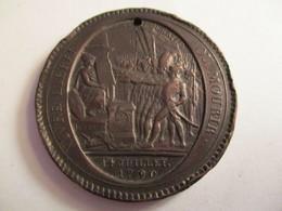 France: Médaille De Confiance 5 Sols 1792 - Monétaires / De Nécessité