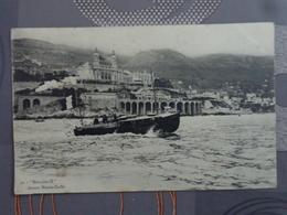 MONACO MONTE CARLO BATEAU HERACLES II DEVANT MONTE CARLO - Monte-Carlo