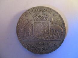 Australie: 1 Florin 1947 - Monnaie Pré-décimale (1910-1965)