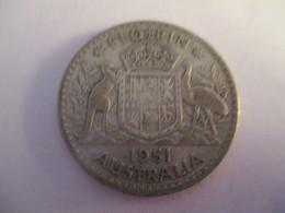 Australie: 1 Florin 1951 - Monnaie Pré-décimale (1910-1965)