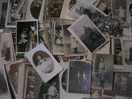 170 Carte Photo Homme Femme Enfant Bebe Groupe Militaire Paysage, Situé Ou A Situer Bon Etat - Postcards