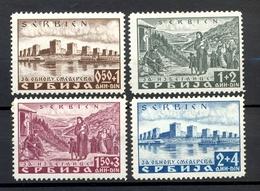 GERMANY WWII - Occupation Of Serbia Mi.No. 46/49, MNH / 2 Scans - Alemania