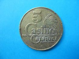 JETON DE CASINO  CARAIBE - Casino