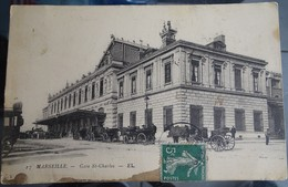 Cpa - Marseille - Gare Saint Charles - Marseille