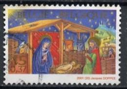 Belgique - Belgium - Belgien 2001 Y&T N°3039 - Michel N°3094 (o) - 0,37€ Noël Et Nouvel An - Belgium