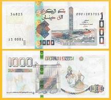 Algeria 1000 Dinars P-new 2018 (2019) UNC Banknote - Algérie