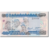 Billet, Nigéria, 50 Naira, KM:27c, NEUF - Nigeria