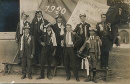 Carte Photo Boulleret Conscrits Classe 1920 - Autres Communes