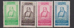 GRAND LIBAN        N°  YVERT  :   176/179  NEUF AVEC  CHARNIERES      ( Ch  2/03  ) - Neufs