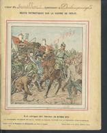 MILITARIA PROTÉGE CAHIER ILLUSTRÉE SUR LA GUERRE 1870 LE SIÈGE DE METZ VEND EN ETAT : - Protège-cahiers