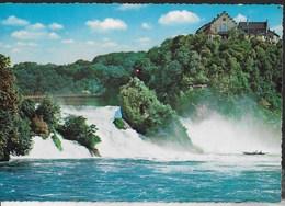 SVIZZERA - SCAFFHAUSEN - BODENSEE RHEINFALL - VIAGGIATA 1965 - SH Schaffhouse