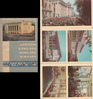 Views From Alma-Ata, Kazakhstan  - 30 Leporello Folder From 1960 - Kazakhstan