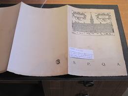 ANVERS-11/6/1930-INVITATION AU BANQUET POUR BOURGMESTRES HAMMBOURG BREME LUBECK - Programmes