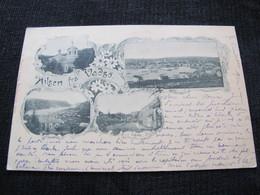 Ancienne Carte Postale Cpa Rare Hilsen Fra Vadso Circulée Vers Paris Et Guignes Rabutin 1901 Précurseur - Norway