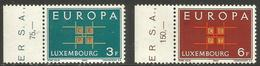 Luxembourg - 1963 Europa  MNH ** SG 730-1 - Unused Stamps