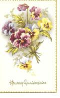 FLEURS PENSEES HEUIREUX ANNIVERSAIRE - Fleurs