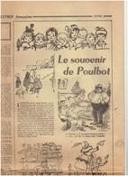 Les Lettres Francaises 27 Septembre 1946 : Hommage à Poulbot , Peynet :le Festival De Cannes - - Newspapers
