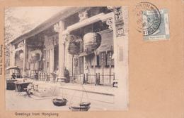 Greetings From Hong Kong - 1904 - Chine (Hong Kong)