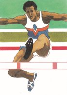 USA Postcard 1984 Olympic Games Los Angeles - Mint  (G91-13) - Olympic Games