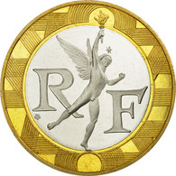 Monnaie, France, Génie, 10 Francs, 2001, FDC, Aluminum-Bronze, Gadoury:827a - France