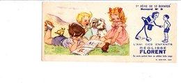 BUVARD REGLISSE FLORENT - ENFANTS ET CHIEN - Non Classés
