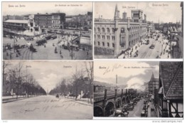 ALLEMAGNE BERLIN GRUSS AUS BERLIN LOT DE 9 CARTES - Allemagne